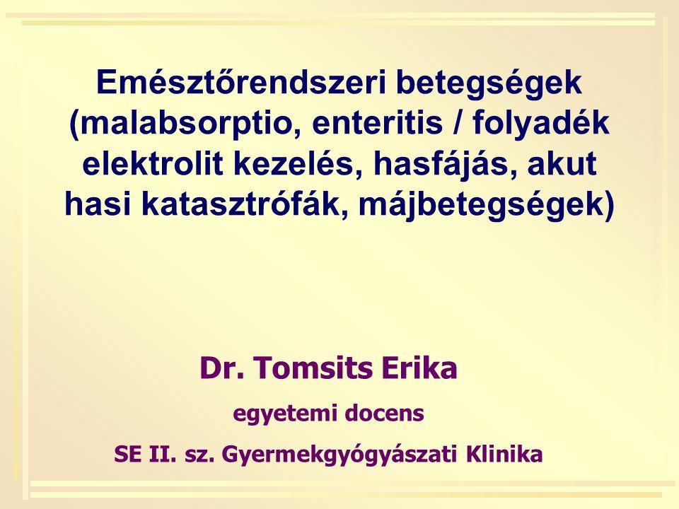 SE II. sz. Gyermekgyógyászati Klinika