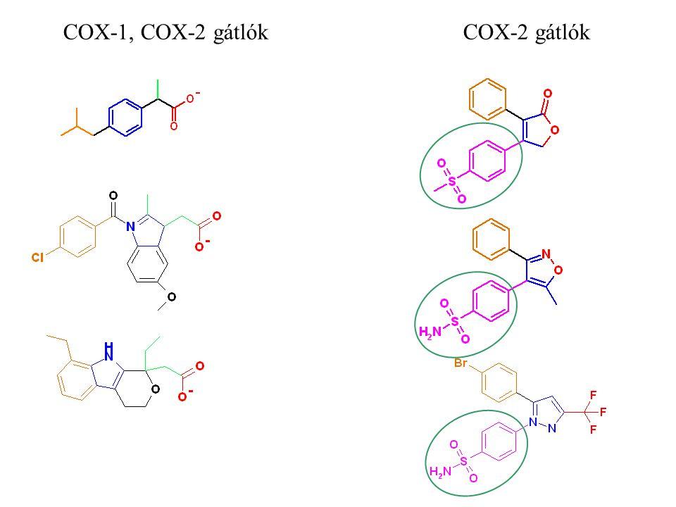 COX-1, COX-2 gátlók COX-2 gátlók