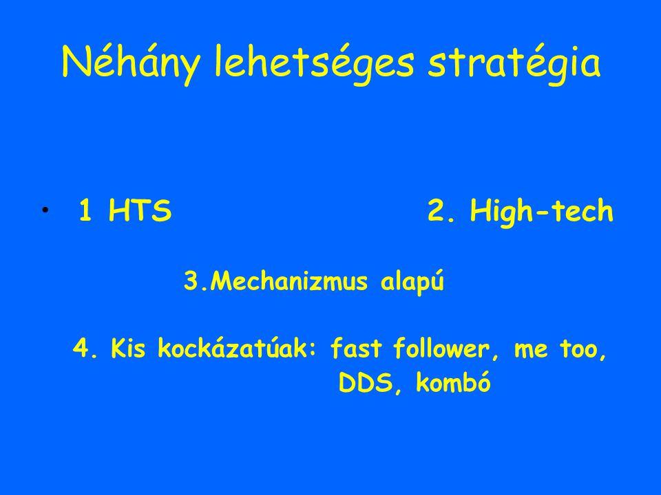 Néhány lehetséges stratégia