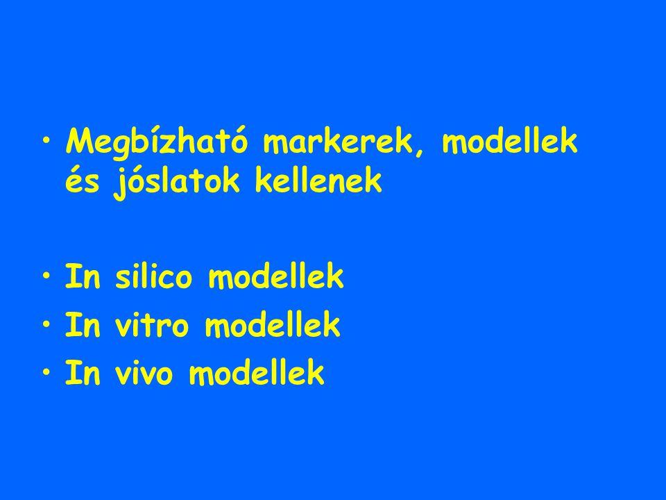 Megbízható markerek, modellek és jóslatok kellenek