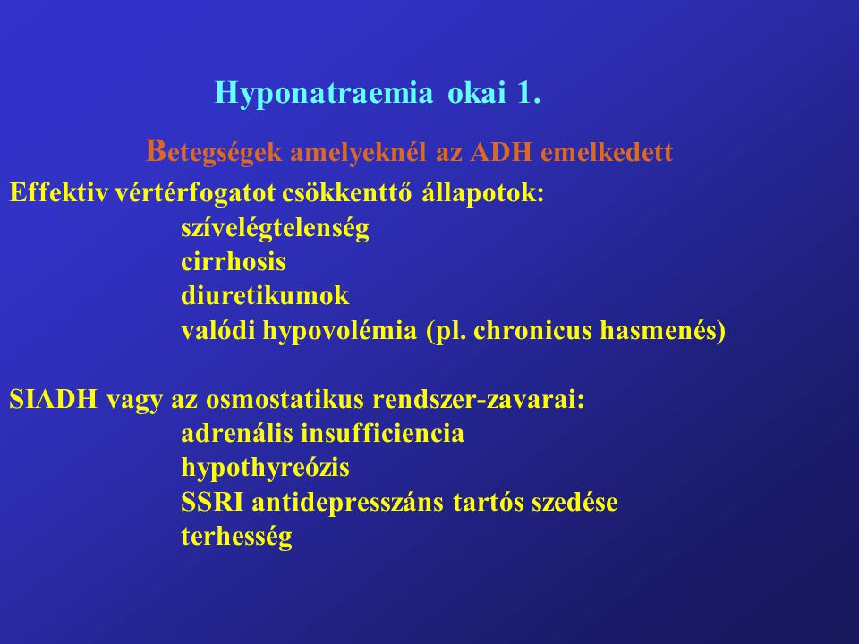 Hyponatraemia okai 1.