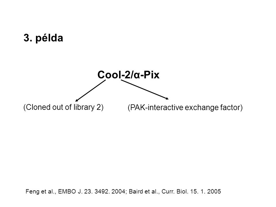 3. példa Cool-2/α-Pix (Cloned out of library 2)