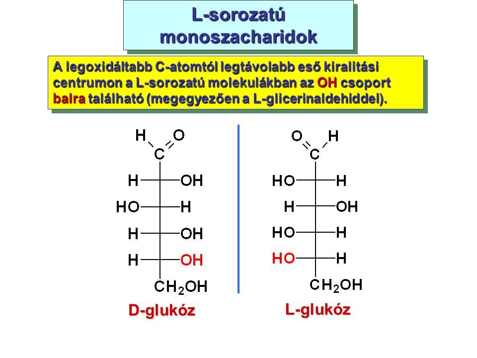 L-sorozatú monoszacharidok