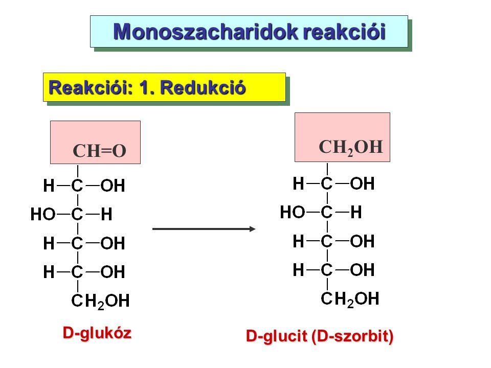Monoszacharidok reakciói