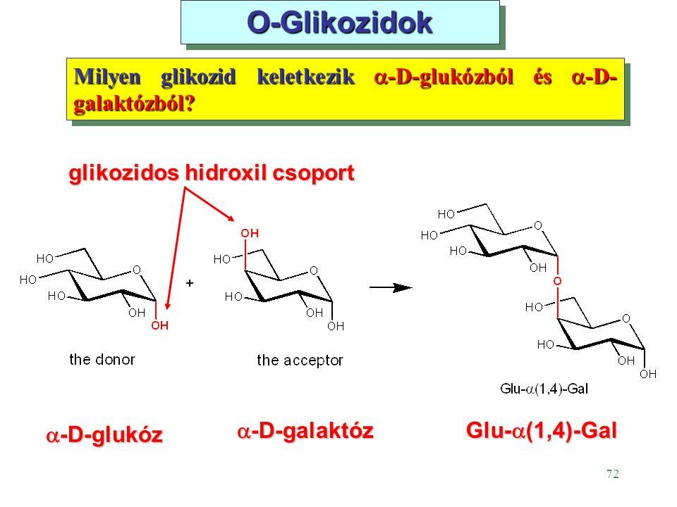 glikozidos hidroxil csoport