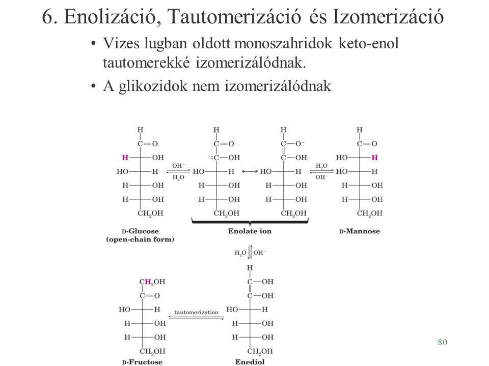 6. Enolizáció, Tautomerizáció és Izomerizáció