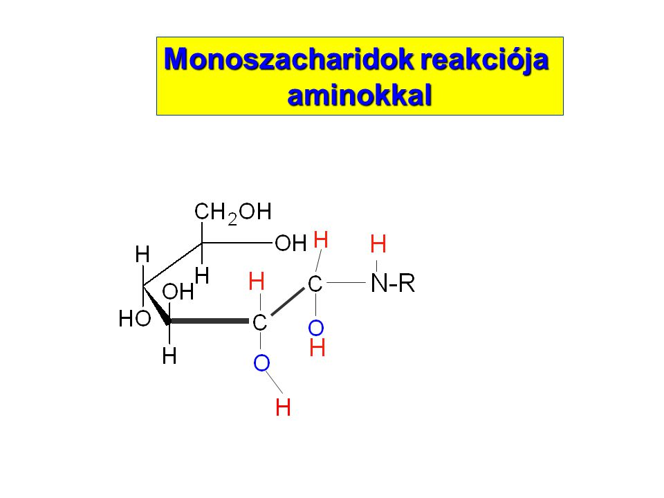Monoszacharidok reakciója