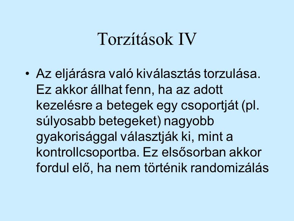 Torzítások IV