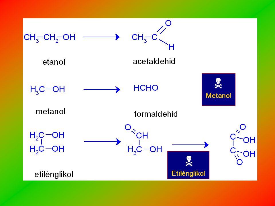 N Metanol N Etilénglikol