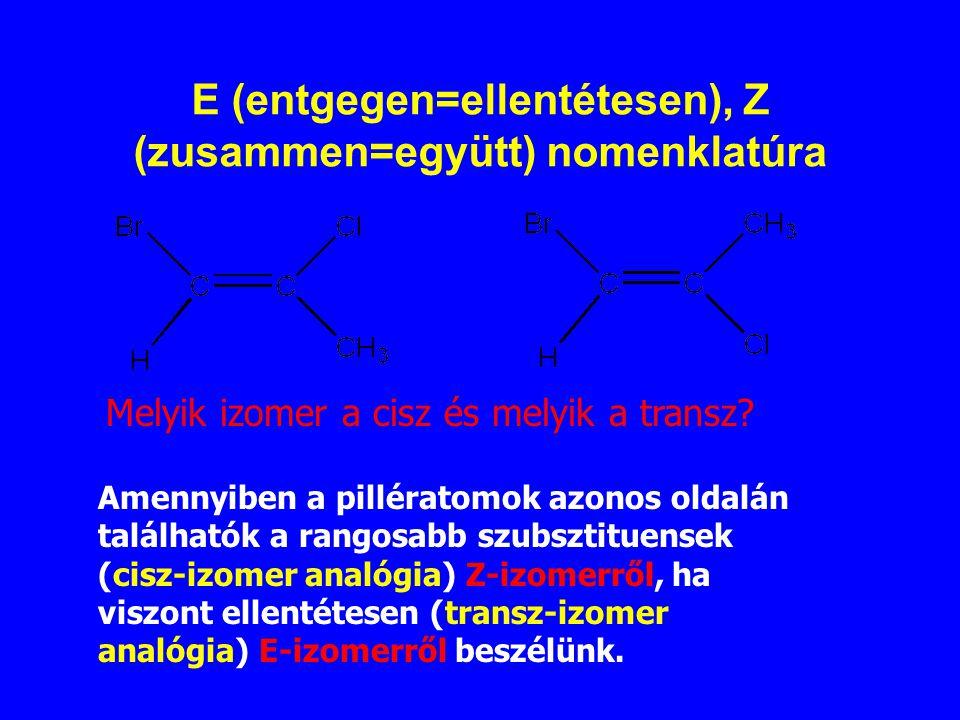 E (entgegen=ellentétesen), Z (zusammen=együtt) nomenklatúra
