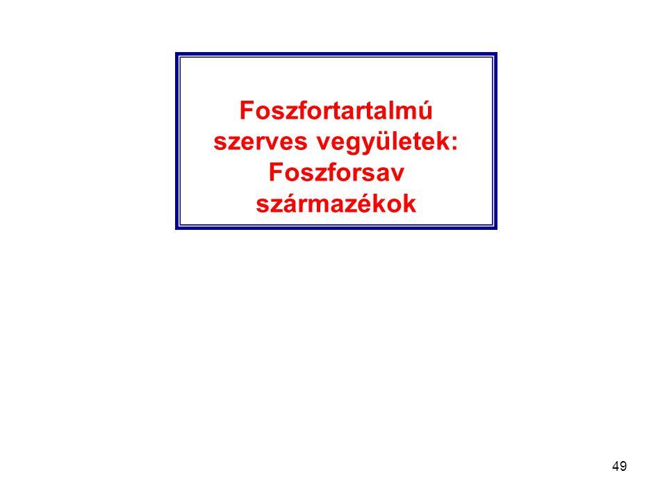 Foszforsav származékok