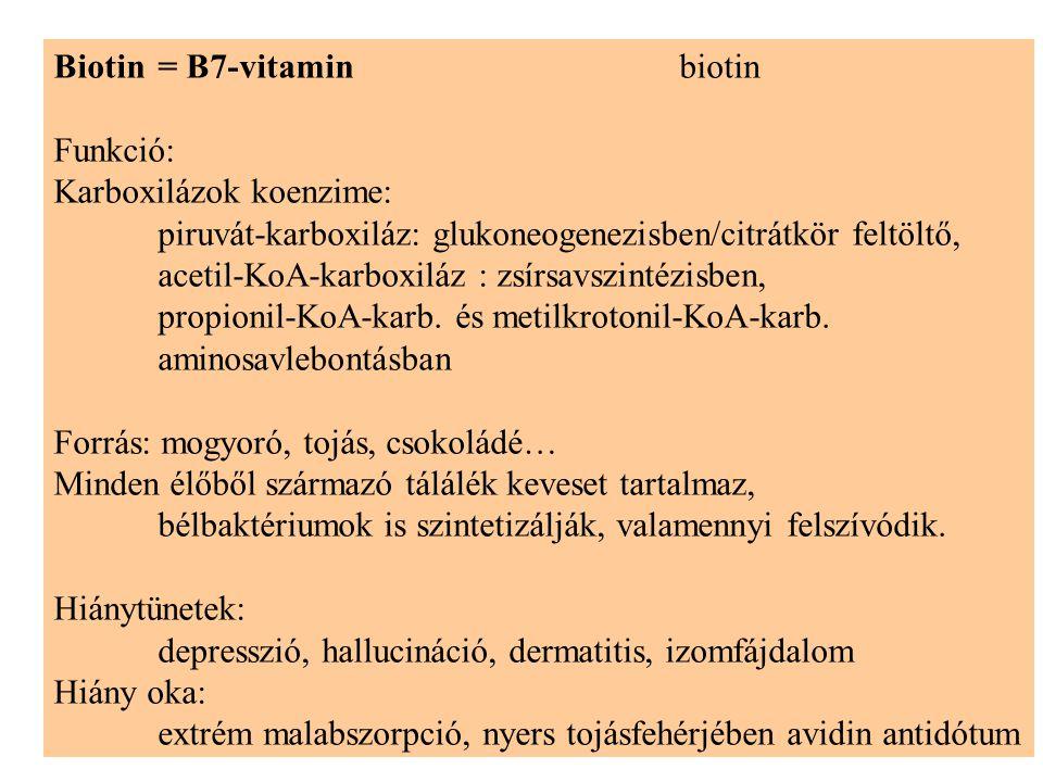 Biotin = B7-vitamin biotin