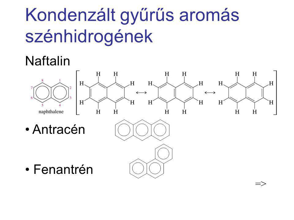 Kondenzált gyűrűs aromás szénhidrogének
