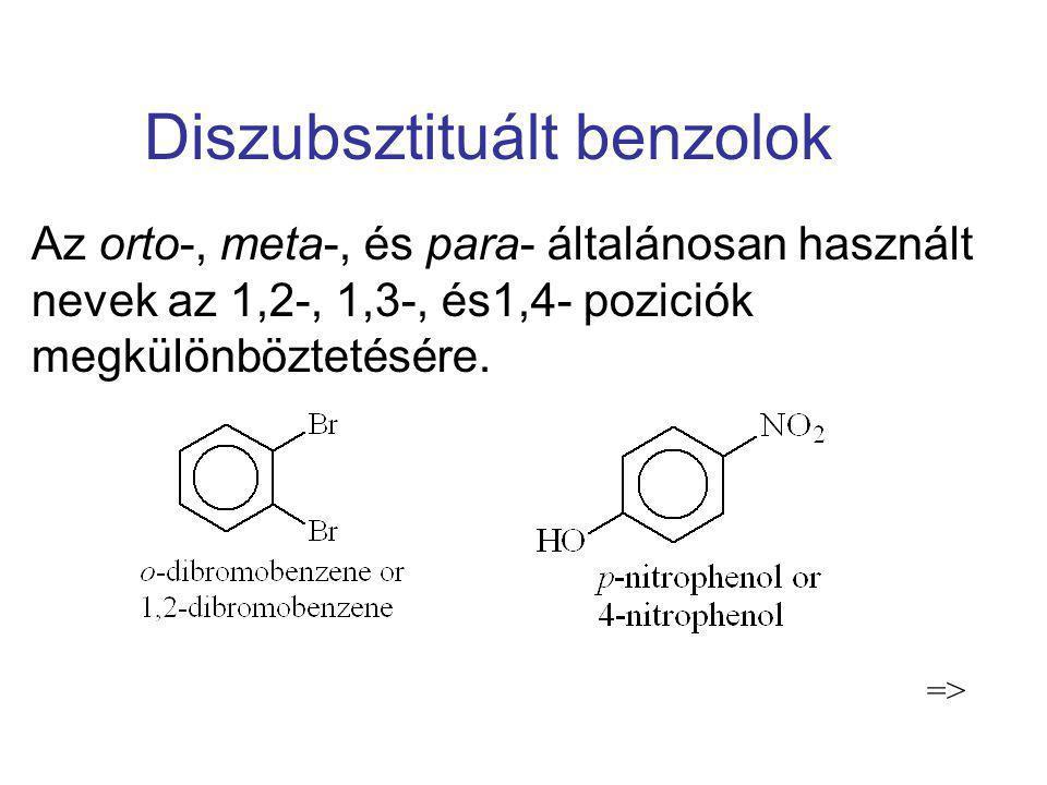 Diszubsztituált benzolok