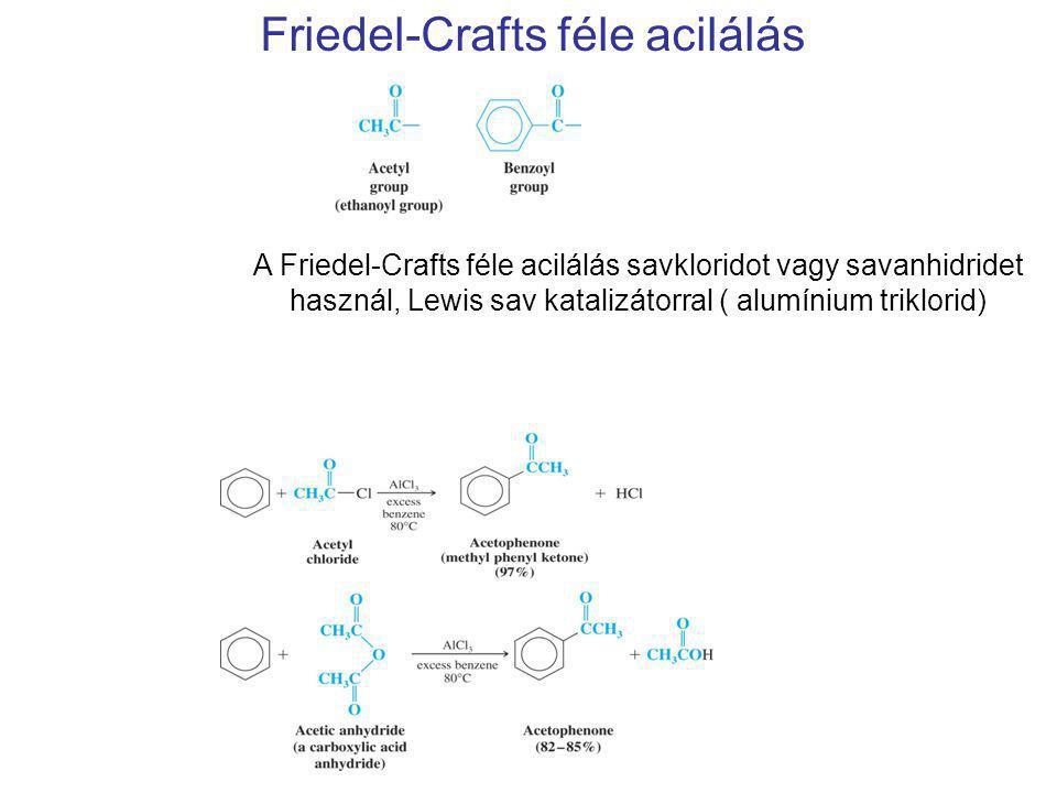 Friedel-Crafts féle acilálás