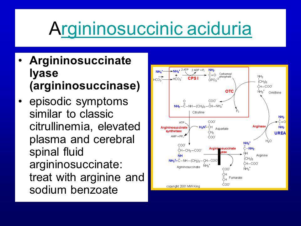 Argininosuccinic aciduria