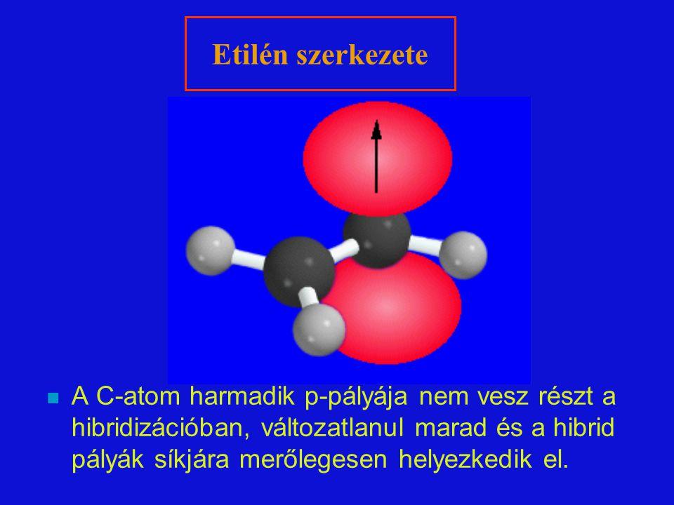 Etilén szerkezete