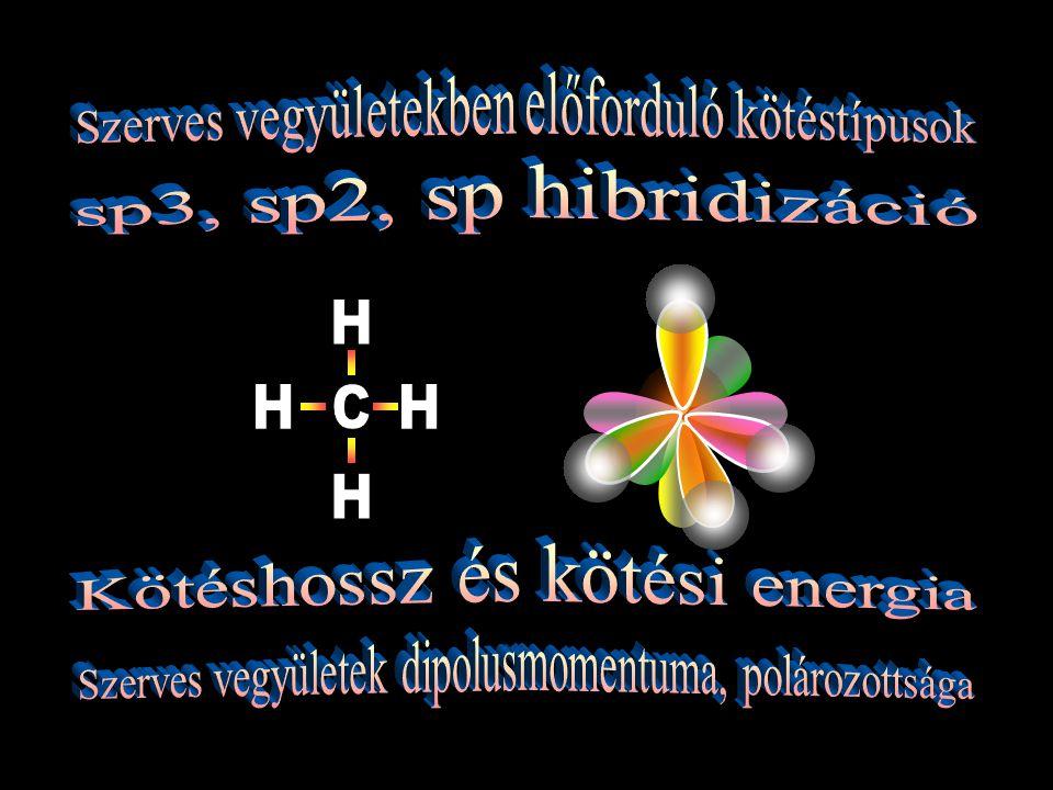Kötéshossz és kötési energia