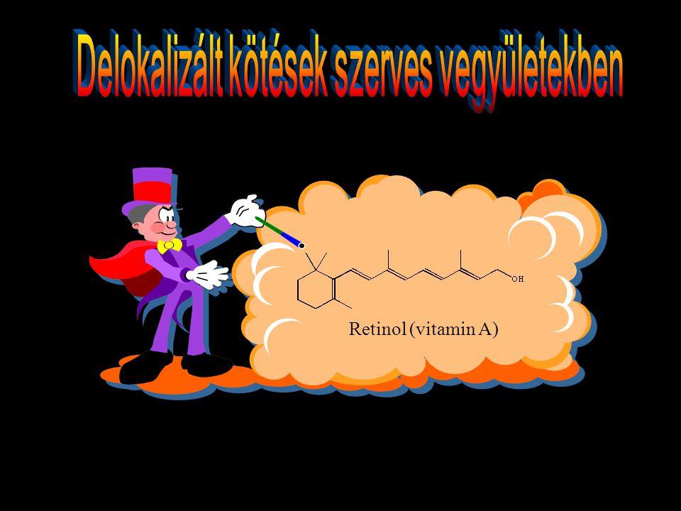 Delokalizált kötések szerves vegyületekben