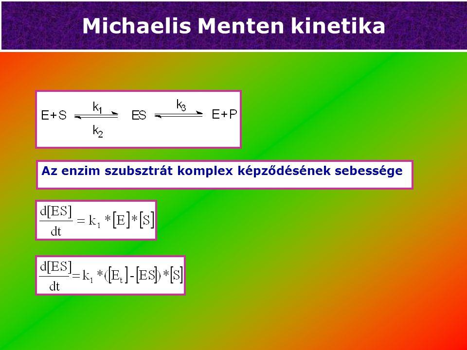 Michaelis Menten kinetika