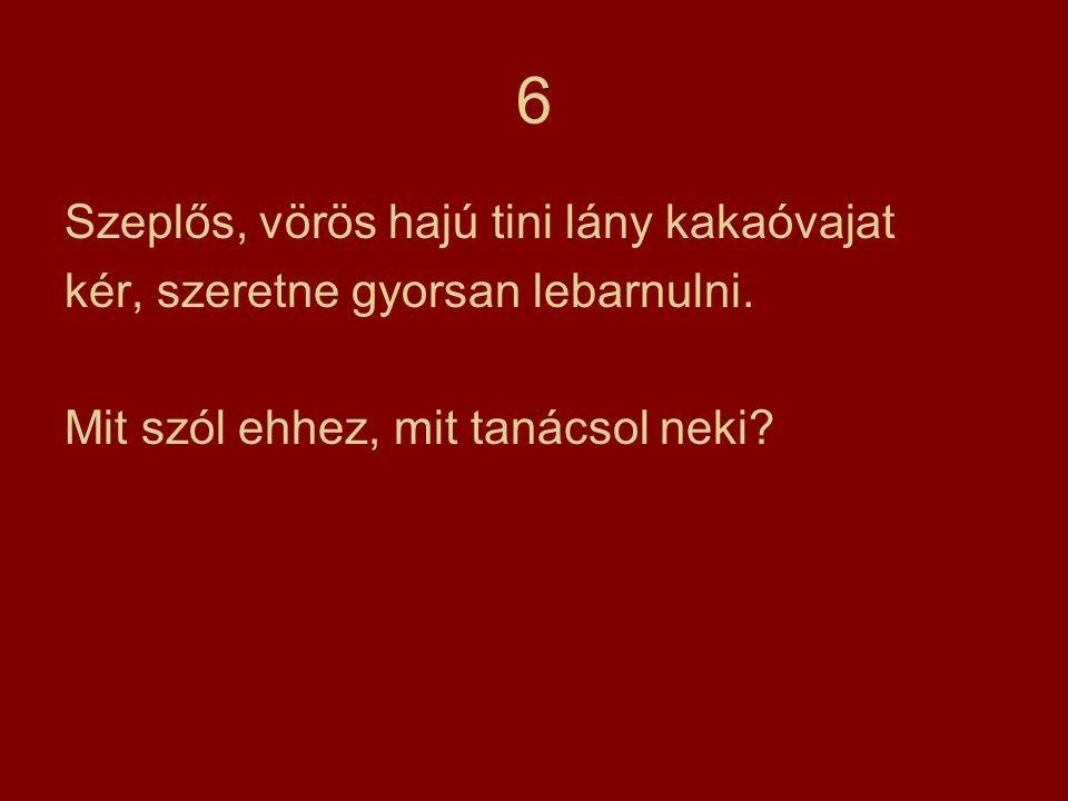 6 Szeplős, vörös hajú tini lány kakaóvajat