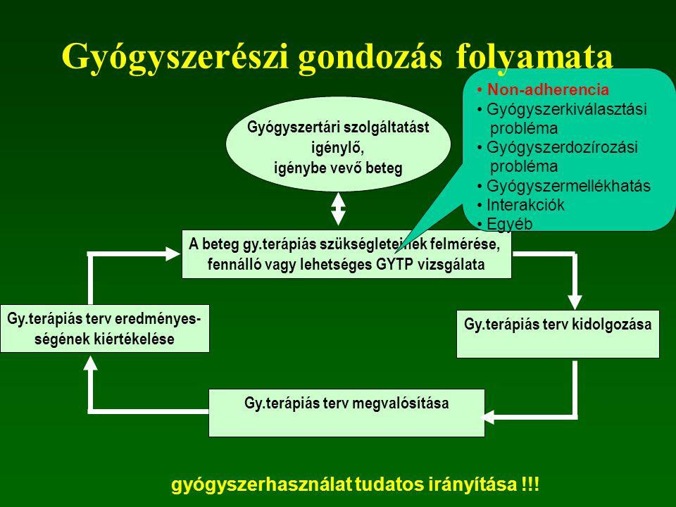 Gyógyszerészi gondozás folyamata