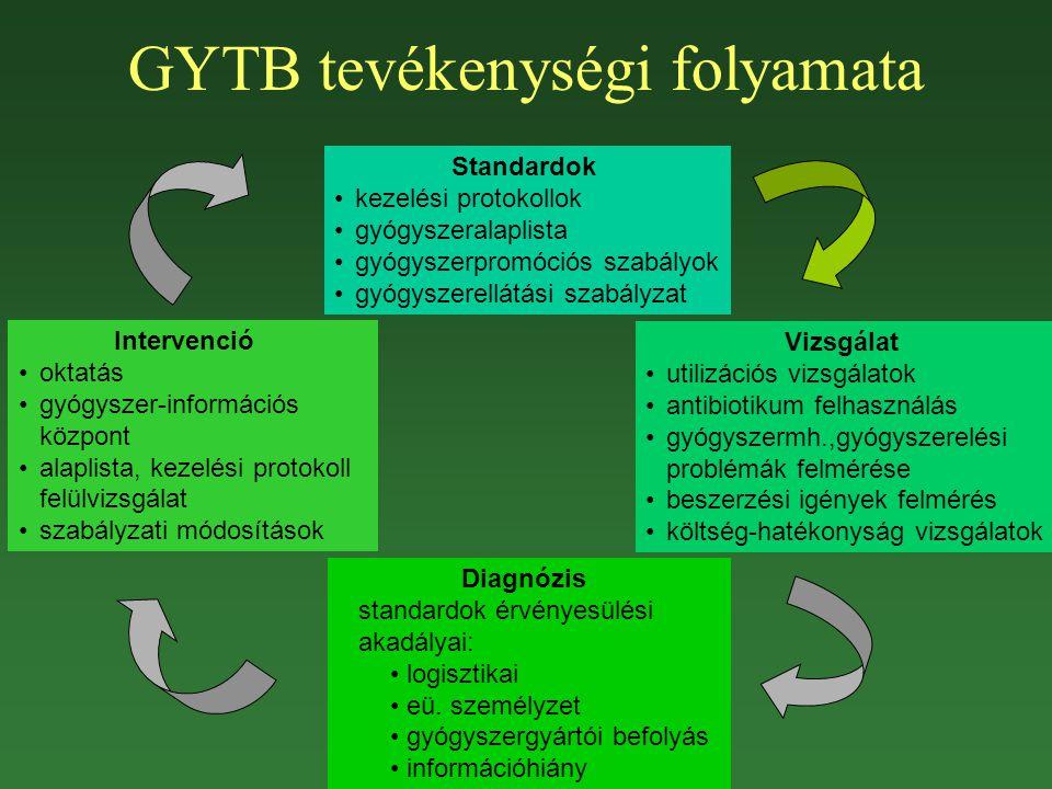 GYTB tevékenységi folyamata