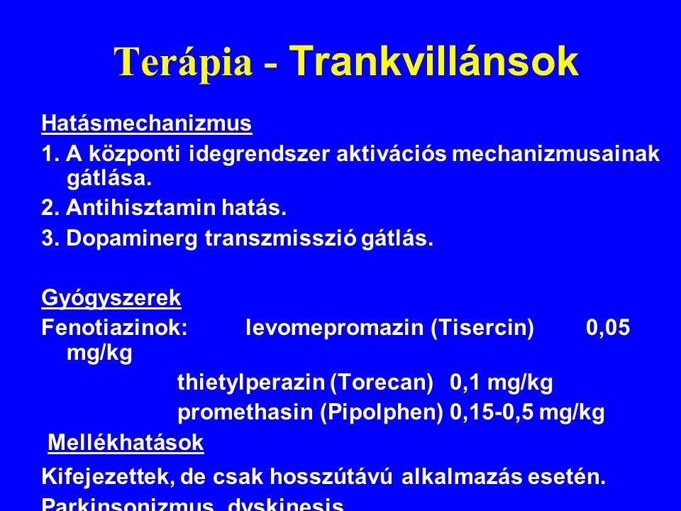 Terápia - Trankvillánsok