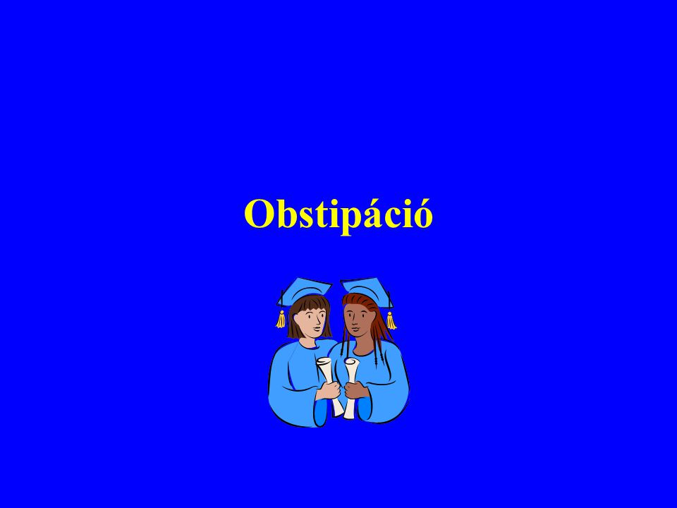 Obstipáció