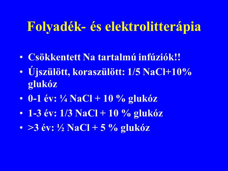 Folyadék- és elektrolitterápia