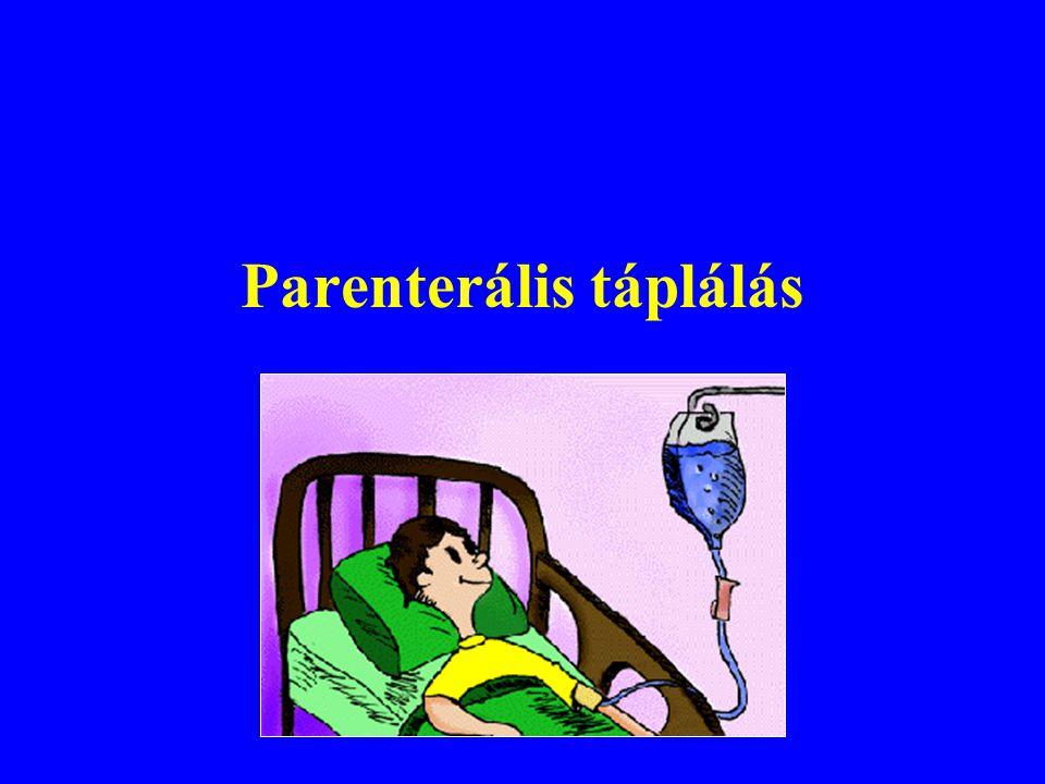 Parenterális táplálás