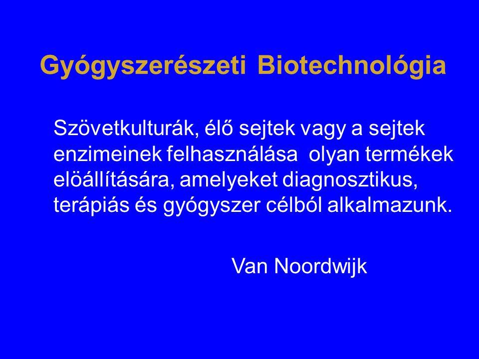 Gyógyszerészeti Biotechnológia