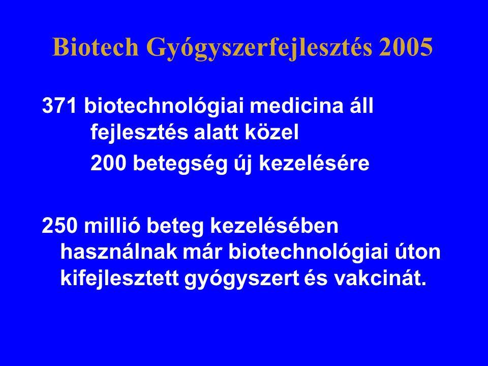 Biotech Gyógyszerfejlesztés 2005