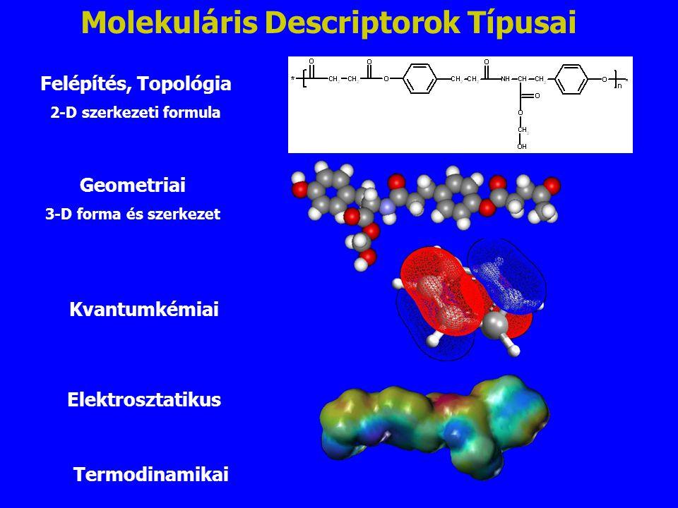 Molekuláris Descriptorok Típusai