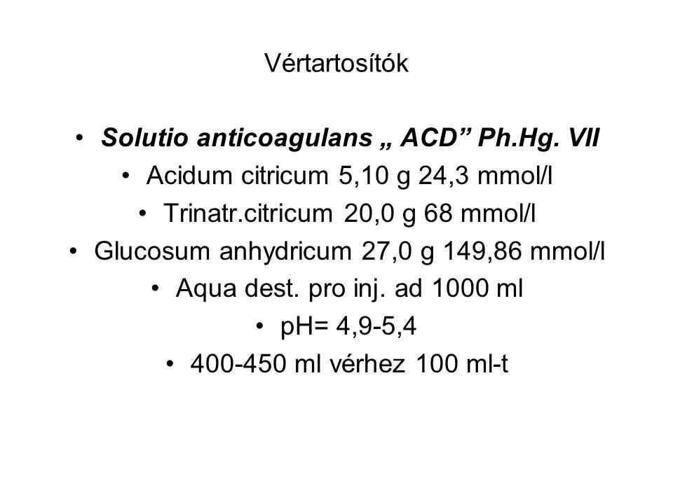 """Solutio anticoagulans """" ACD Ph.Hg. VII"""