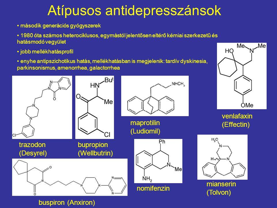 Atípusos antidepresszánsok