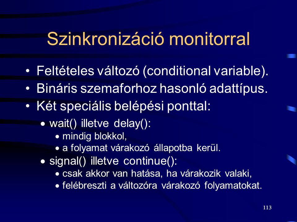 Szinkronizáció monitorral