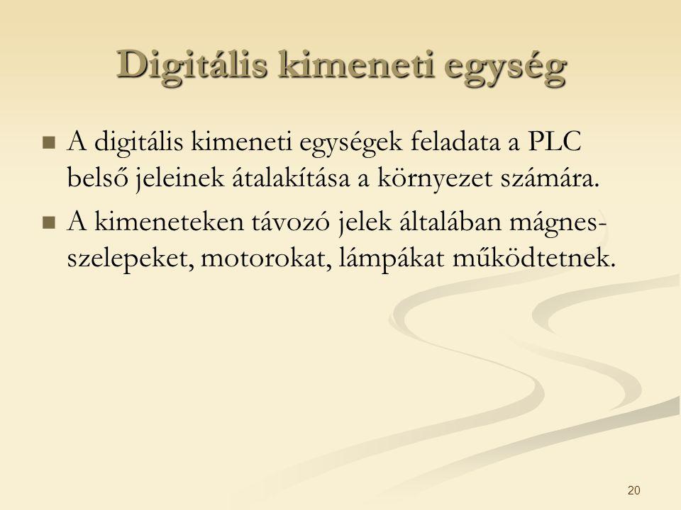 Digitális kimeneti egység