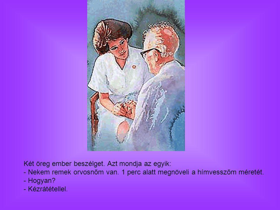 Két öreg ember beszélget