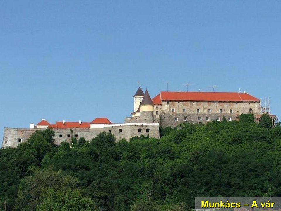 Munkács – A vár