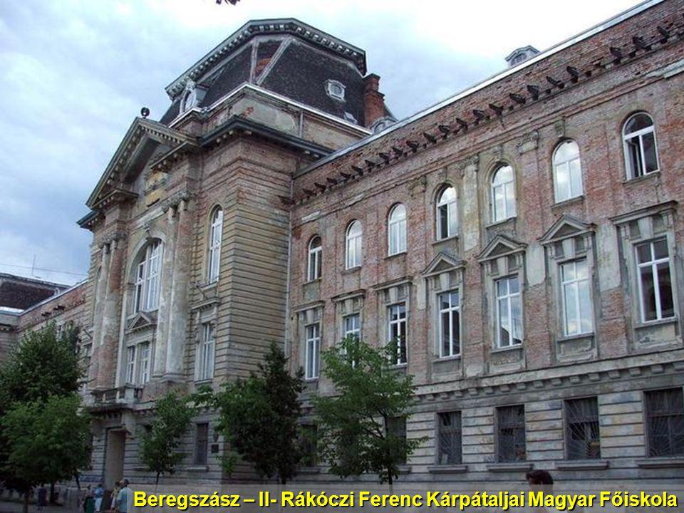 Beregszász – II- Rákóczi Ferenc Kárpátaljai Magyar Főiskola