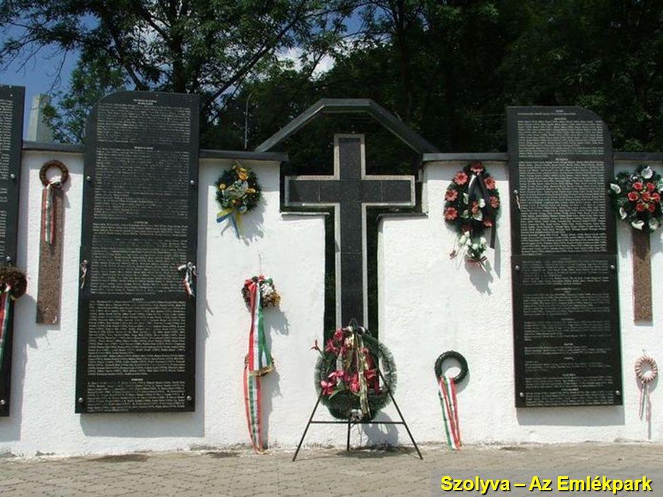 Szolyva – Az Emlékpark