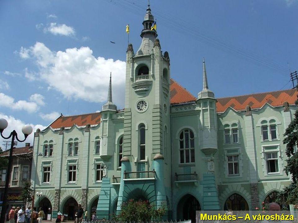Munkács – A városháza