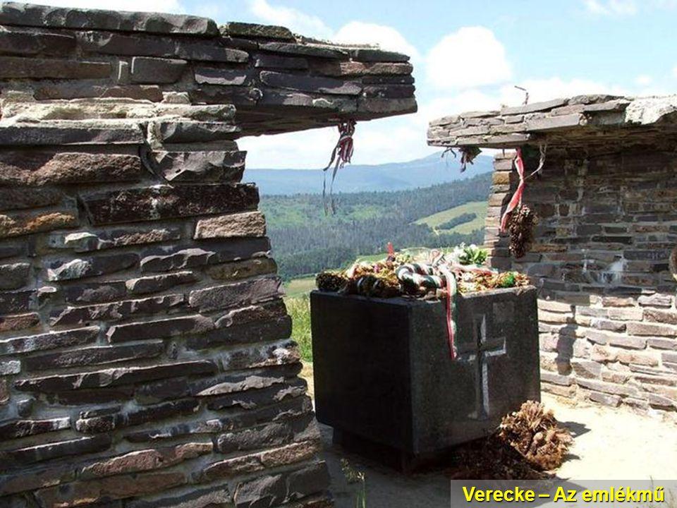 Verecke – Az emlékmű