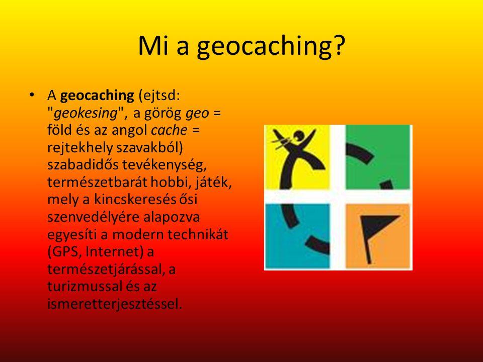 Mi a geocaching