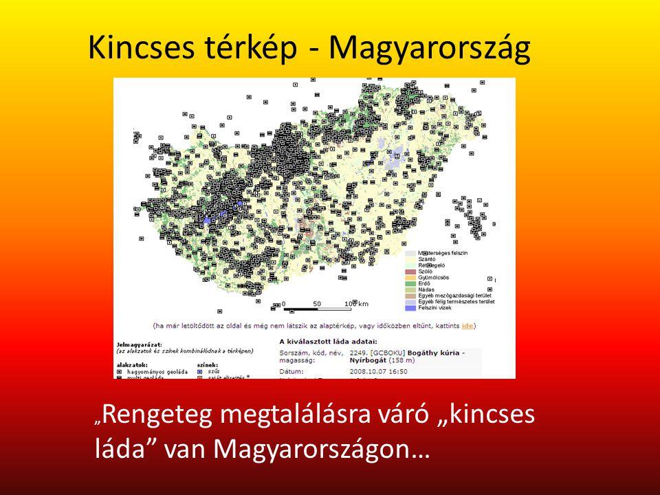 Kincses térkép - Magyarország