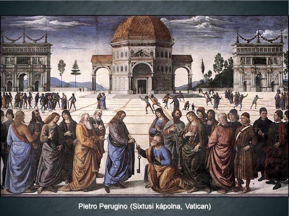 Pietro Perugino (Sixtusi kápolna, Vatican)