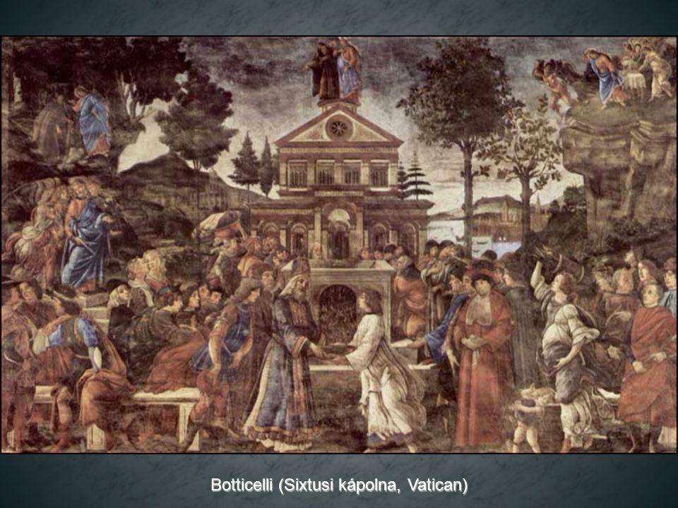 Botticelli (Sixtusi kápolna, Vatican)