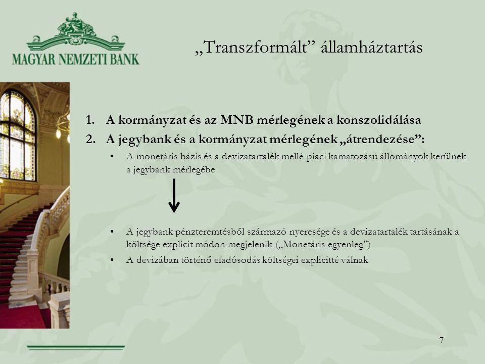 """""""Transzformált államháztartás"""
