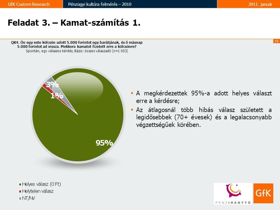 Feladat 3. – Kamat-számítás 1.